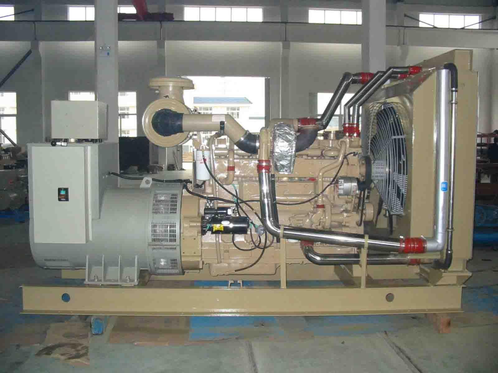 120kw康明斯柴油发电机组图片