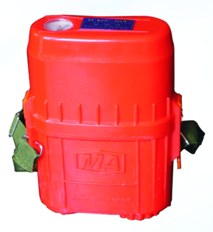ZY45隔绝式压缩氧自救器样本及产品图片 机电