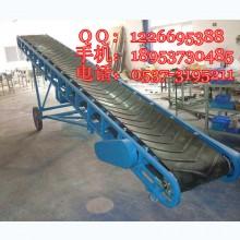 粮食移动式皮带输送机 手拉升降输送机 食品装车运输机