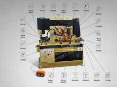 【安徽亚联】 Q35YL-250 联合冲剪机 厂家直供