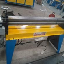 同步升降小型电动卷板机 1米3偏三星卷板机价格