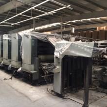 北人四色印刷机解体、移位、吊装、装车