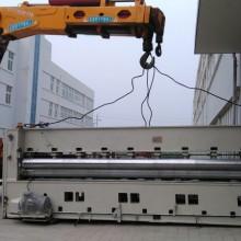 纺织机整条生产线、吊装、移位、定位、安装
