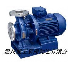 ISWH卧式不锈钢管道离心泵 30kw耐腐蚀管道泵 化工管