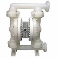 温州永嘉威王水泵专业制造QBY氟塑料气动隔膜泵