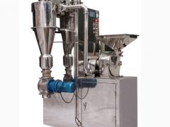 不锈钢中草药粉碎机组适用于大产量粉碎设备
