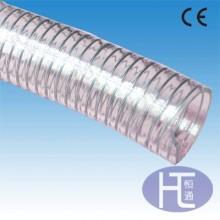 TPU钢丝管 PU平滑钢丝管 耐磨钢丝管