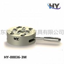 恒一D1003R手动卡盘 CNC定位夹具 通用3M系统