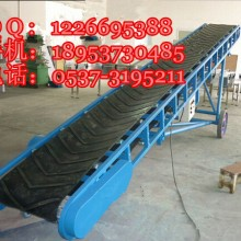 供应可移动式皮带运输机 防滑胶带输送机 槽型粮食输送机