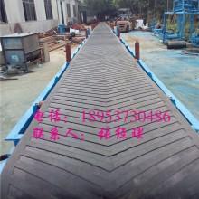 耐磨带式砂石输送机,单/双槽钢传送带定制