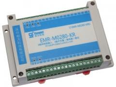 双RS485通讯接口2路继电器开关量输出8路热电阻温度采集