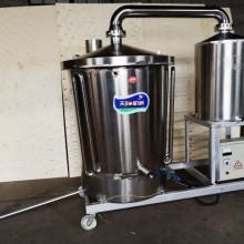 电加热纯粮蒸酒设备,固液两用烧酒机