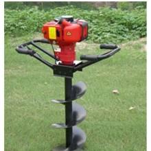 四冲程立式挖坑机植树挖坑机劳动强度低宁夏