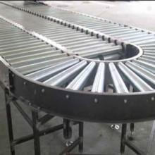 瑞安无动力滚筒输送机 铝型材线和转弯滚筒线