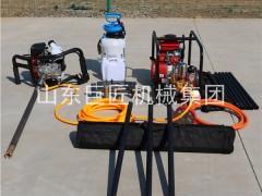 勘探钻机价格BXZ-1单人手持便携式取芯钻机重量轻上山方便