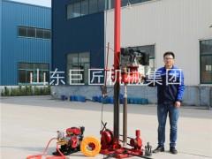 巨匠机械现货供应QZ-3型地质钻探钻机柴油动力扭矩大