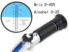 HT512ATC葡萄酒折射仪HT511ATC酒精浓度计折光仪