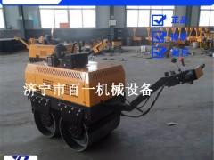 耐用百一手扶式单钢轮压路机