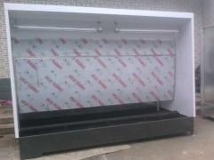 博远供应龙泉市环保型水帘柜,水帘喷漆台