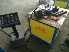 WS-50液压角钢卷圆机高铁护栏角铁卷圆机