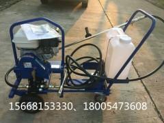 供应广东手推式乳化沥青撒布机 液压进口泵喷洒效果好