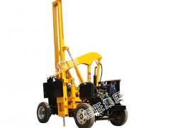 恒旺厂家直销HZH-360C装载式护栏打桩机公路护栏打桩机