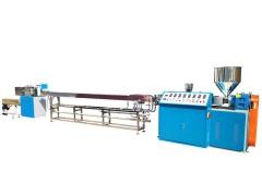 PLA吸管生产设备 环保可降解塑料吸管挤出机厂家 天诚塑机