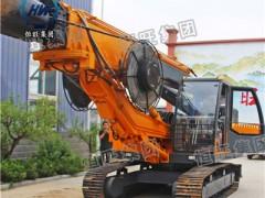 厂家出售履带式旋挖钻机大孔径旋挖钻机高压线塔打桩机