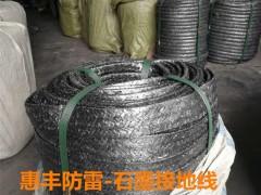 石墨基柔性编制带能做防雷接地使用