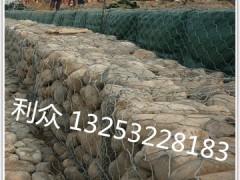 镀pvc包塑石笼网箱-认准河北利众
