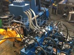 广东y83w卧式大型钢刨花1250吨压饼机
