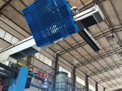 塑料卡板山东托盘厂,塑料垫板双面塑料托盘1311