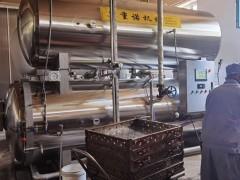 卤制品常用杀菌锅 全自动水浴式杀菌锅