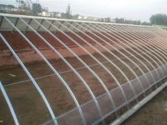 山西西红柿拱型棚选用几字钢大棚材料质**价廉