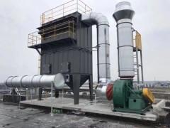 上海浦东金山宝山注塑机造粒机废气净化设备,粉尘净化设备