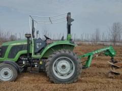 后置式拖拉机挖坑机 栽树挖坑机 螺旋挖坑机价格