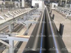 合创格瑞鑫HDPE管材生产线