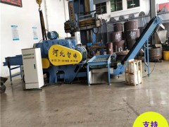 塑钢带铁粉碎机平行输送自动进料 自动化塑钢带铁粉碎机安装方法